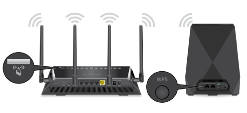 how to connect to Netgear router using WPS