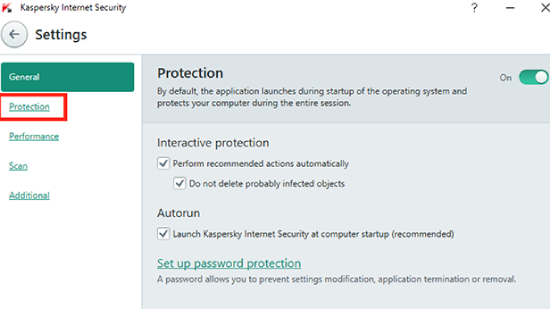 How To Disable Kaspersky Total Security