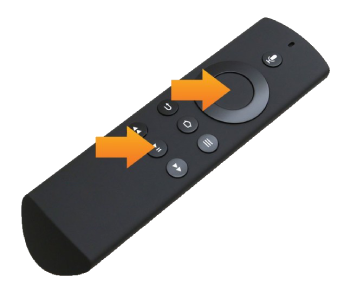 Reset Amazon Fire Stick using Remote
