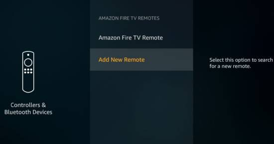Sync Amazon Fire Tv Remote