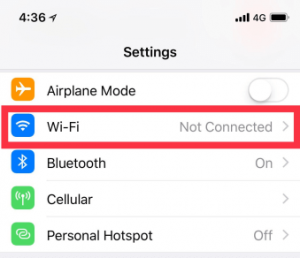 How To Use Wps Push Button On Iphone